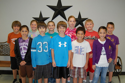 Congratulations to Windsong's Super Stallion Citizens for the month of March.  These students were chosen by their teachers and peers for showing the character trait of Respect. Fourth Grade: Walter Mouttet, Andrew Litzinger, Diana Martinez, Zachary LIppert, Karson Sohrt, Zoe Aery, Jacob Sansom, Gabriella Santos, Madison Jenkins, Kaitlyn Rieke, Ryan Tostado