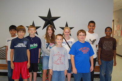Congratulations to Windsong's Super Stallion Citizens for the month of April.  These students were chosen by their teachers and fellow students for showing the character trait of Responsibility. Fifth Grade - Alaina Dean, Rehan Amir, Hunter Hall, Blake Trevino, Kendall Cross, Robert Atkins, Harrison Otto, Harrison Williams, Khalil Lee, Xavier Hunt