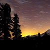Mount Baker Star Trails