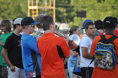 Pioneer Marching Band Camp 8-20-10