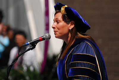 """Students voted Professor Kay Levine """"Outstanding Professor of the Year."""""""