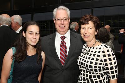 Alumni Awards- Lauren Olens, Sam Olens 83L, Lisa Olens