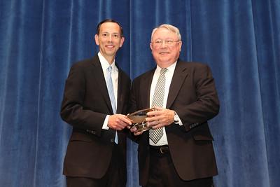 Alumni Awards- Dean Schapiro with Barrett Hawks