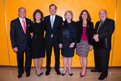 Allan Diamond, Jill Totenberg, Dean Robert Schapiro, Nina Totenberg, Amy Totenberg and Robert Spiegel