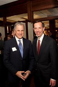 Mr. Richard Levin and Dean Robert Schapiro