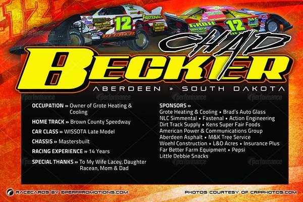 Becker RaceCards