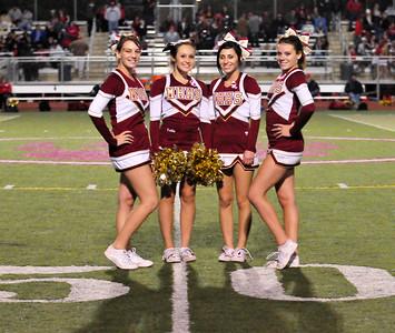 Varsity Cheer Seniors