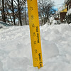 I hate to dig out but 20 inches is a lot of snow!