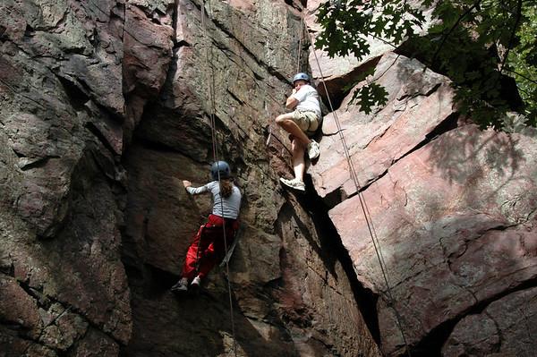 2010 Fall Parent/Child Climbing Trip