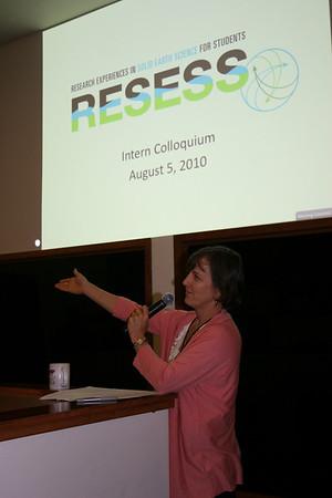 2010 RESESS Colloquium at UNAVCO