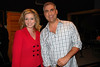 Melissa Ross, with Taylor Hicks, who appeared on the program April 29, 2010. THe singer/American Idol winner was in Jacksonville while toruing in Grease, in the role of Teen Angel.
