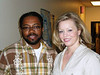 "Al Letson, Host of NPR's ""State of the Re:Union,"" and Melissa Ross"