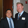 WJCT News Director Scott Kim, Director of Corporate Communications Stan Cleiland
