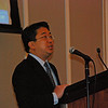 WJCT News Director Scott Kim, who edited the StoryCorps presentation that guests heard at the Listening Party.