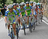 Liquigas has taken over from Lampre - and Cunego has been dropped...
