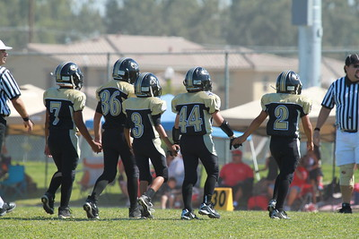2010-09-11 Thunder vs. Los Banos Wildcats