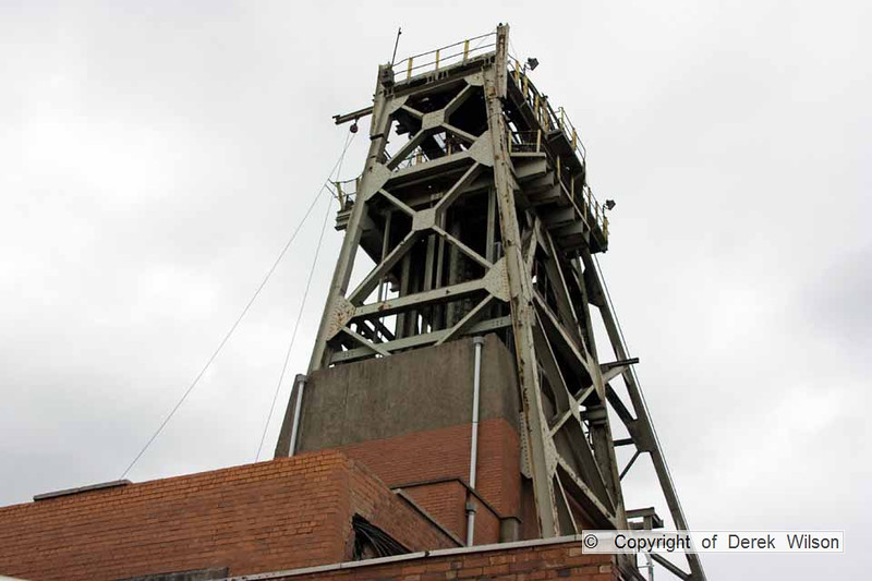 100525-064     Welbeck colliery, one of the headstocks.