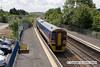 100706-026     First Great Western class 158 unit no. 158956 is seen departing Patchway with the 11.00 Cardiff Central - Taunton.