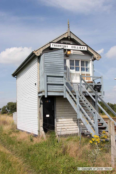 100724-001     Thoresby colliery signal box