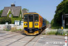 100604-007     East Midlands Trains class 153 unit no 153326 is seen passing Thurgaton with the 12.30 lincoln-Leicester.