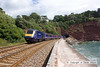 100704-007      A First Great Western HST with 43128 nearest the camera, at the rear of the train, enters Parsons tunnel, near Teignmouth, with the 08.32 Penzance-London Paddington.