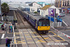 100713-004     FGW class 142, 'pacer' unit no 142030 leaving Paignton with the 11.23 to Exmouth.