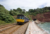 100704-009     FGW 'pacer' unit, class 142 no 142063 Passes along the sea wall at Teignmouth with the 10.54 Exeter St Davids-Paignton.