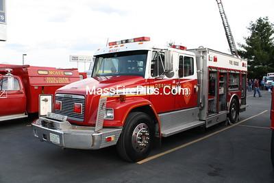 Meadowwood NH Rescue-1, 1993 Freightliner FL-80/Saulsbury H/R, Former Keene NH. Rescue-1.