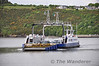 The Passage East Car Ferry crosses the River Suir from Ballyhack in Co. Wexford. Sat 05.06.10