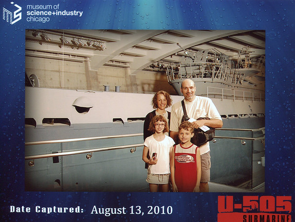 U-505 exhibit at the Museum of Science & Industry