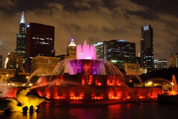 Buckingham Fountain, Grant Park