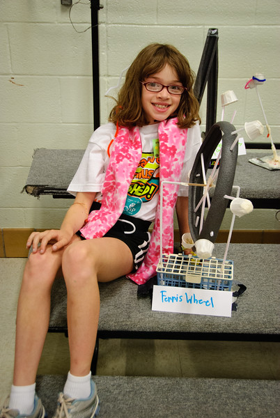Gina's Ferris Wheel from Camp Invention