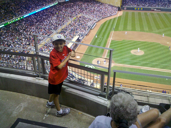Twins vs White Sox at Target Field