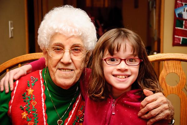 Grandma Mickey with Gina