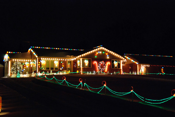 Annual Christmas lights tour