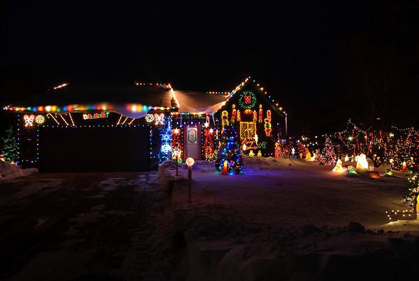 Annual Christmas lights tour