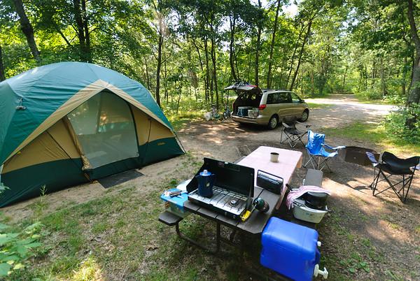 Site 53, Mirror Lake State Park