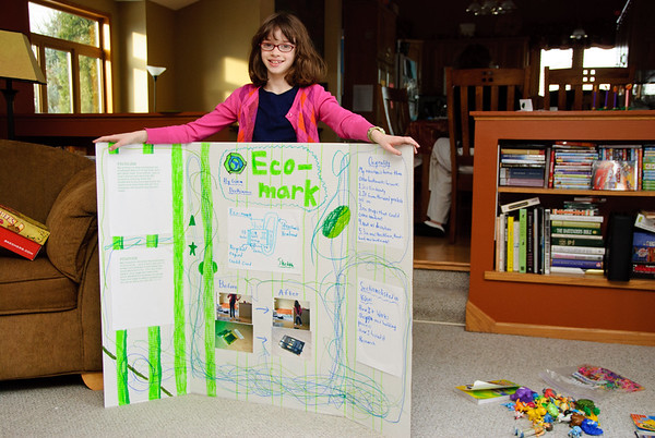Gina's invention for the inventor's fair