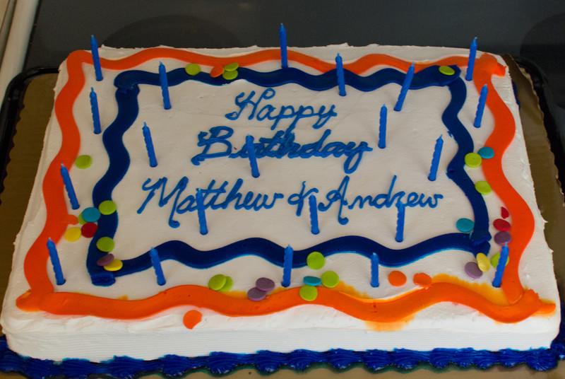 Matt & Andrew's Birthday Party - August 11, 2012