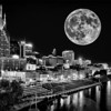 Moon  over Nashville