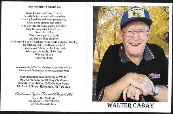 Walter Cabay