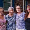Lisa, Aunt Kay, Mom & Cece