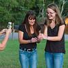 Lisa, Cece & Kim catching a Lightning bug