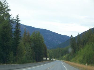 roadside view, Montana