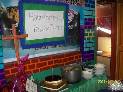 Happy Birthday Pastor Jack