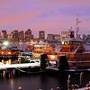 East Boston Tugs at Sunset.