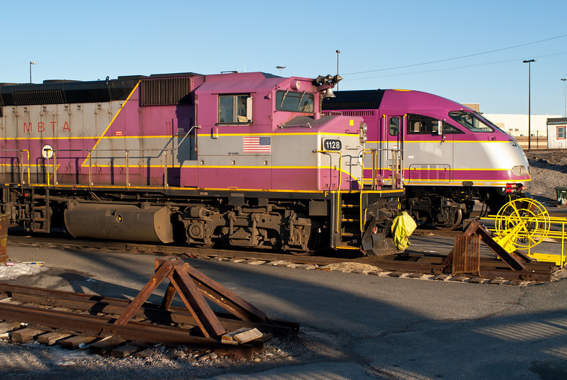 New MBTA Locomotive 010.