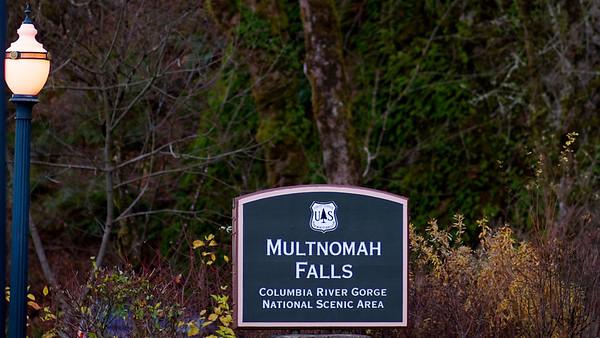 2011-12-22 Multnomah Falls