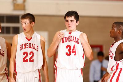 HINSDALE CENTRAL RED DEVILS VS YORK YORK DUKES  02 DECEMBER 2011