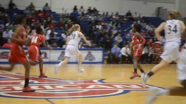 St Johns Cadets vs Good Counsel Falcons Girls WCAC Championship (2/27/2012)